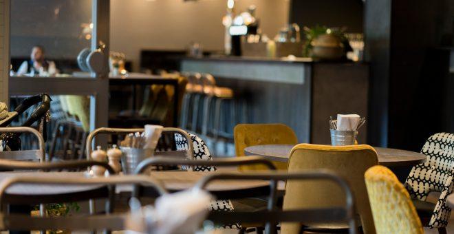 Interiör på Brödernas restaurang på Kungsholmen
